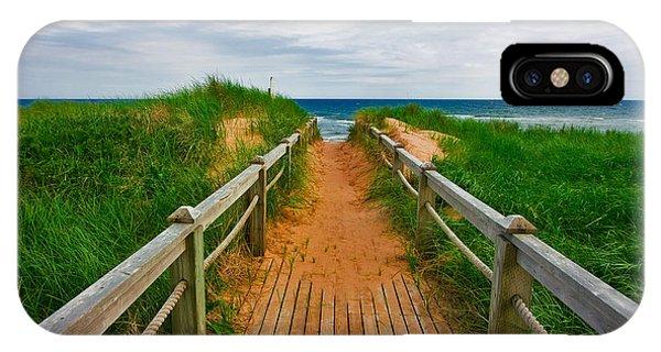 Pei Beach Boardwalk 2 IPhone Case