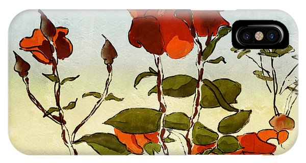 Peka Peka Roses IPhone Case