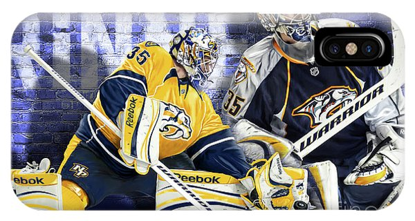Pekka Rinne IIi IPhone Case