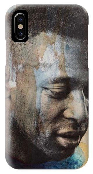 Brazil iPhone X Case - Pele  by Paul Lovering