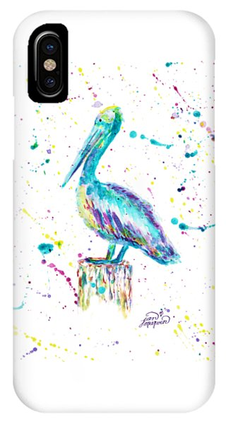 Pelican By Jan Marvin IPhone Case
