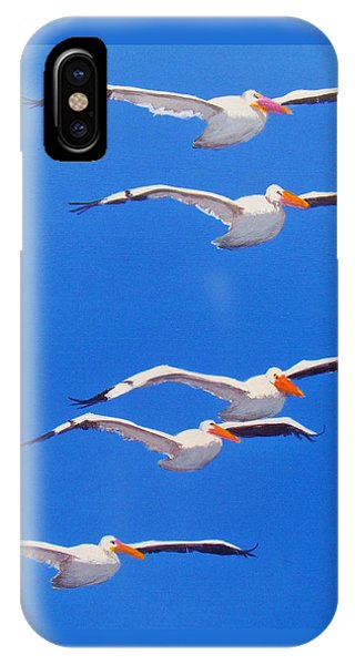Pelican Friends IPhone Case