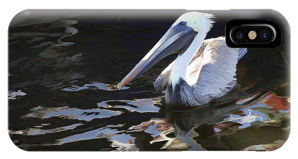 Pelican II Oil Painting IPhone Case
