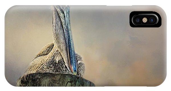Pelican In Paradise IPhone Case