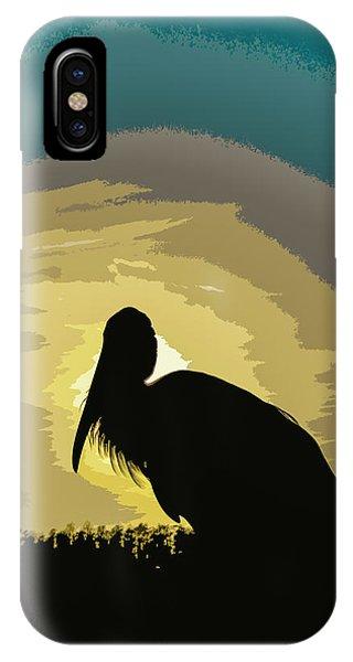 Pelican Paint IPhone Case