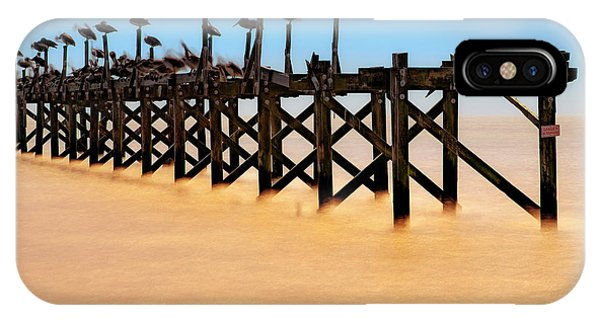 IPhone Case featuring the photograph Pelican Pier Near Pass Christian - Mississippi by Jason Politte