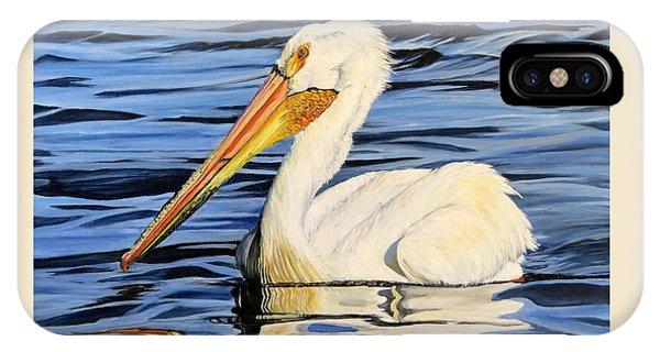 Pelican Posing IPhone Case