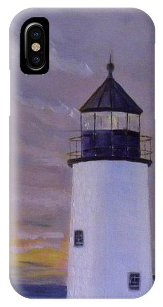 Pemaquid Light Morning Light IPhone Case
