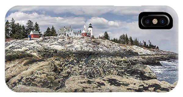 Pemaquid Light Panorama IPhone Case