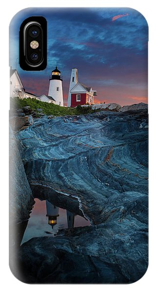 Pemaquid Lighthouse At Dawn IPhone Case