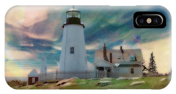 Pemaquid Lighthouse,maine IPhone Case
