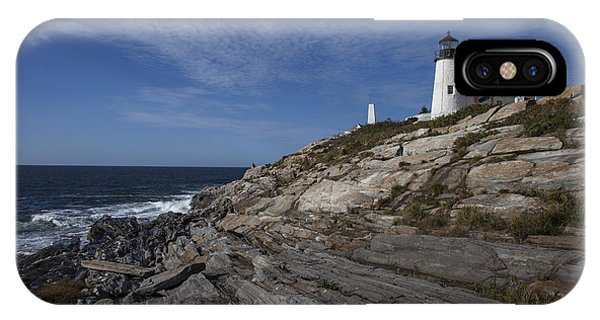 Pemaquid Lightouse IPhone Case
