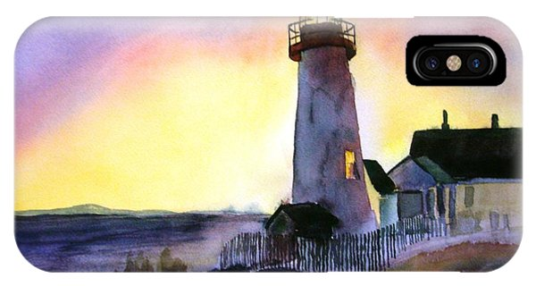 Pemaquid Point Lighthouse Maine IPhone Case