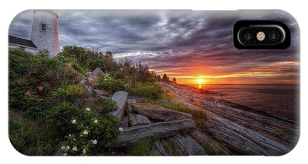 Pemaquid Sunrise IPhone Case