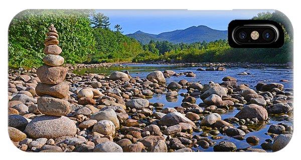 Pemigewasset River, North Woodstock Nh IPhone Case