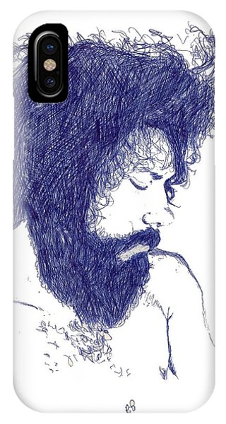Pen Portrait IPhone Case