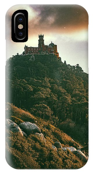 Distant iPhone Case - Pena Palace, Sintra by Carlos Caetano