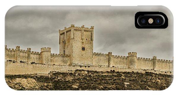 Penafiel Castle, Spain. IPhone Case