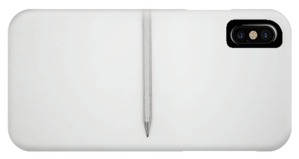 Professional iPhone Case - Pencil On A Blank Page by Scott Norris