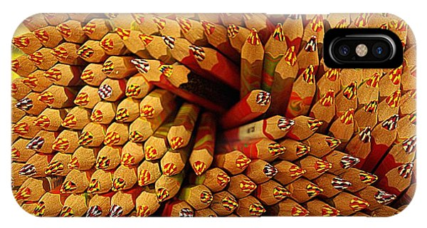 Pencils Pencils Everywhere Pencils Get The Point...lol IPhone Case