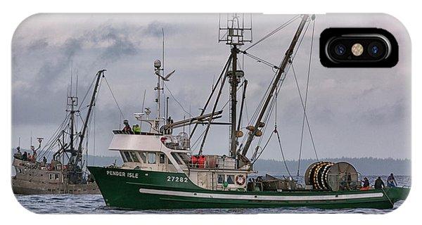 Pender Isle And Santa Cruz IPhone Case