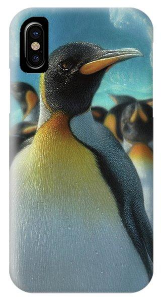 Penguin Paradise IPhone Case