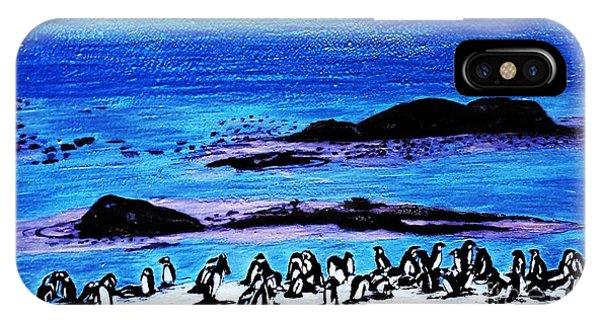 Penguins Land IPhone Case