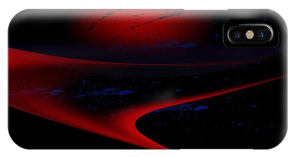 Penman Original-347 Cosmic Curve IPhone Case