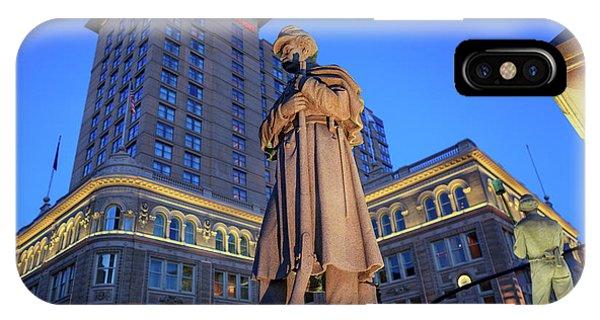 Penn Square Lancaster City IPhone Case