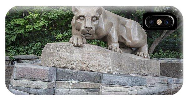 Penn Statue Statue  IPhone Case