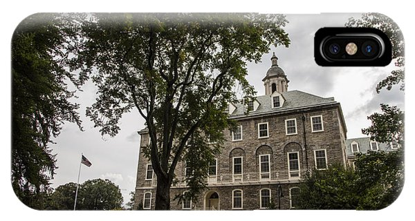 Penn State Old Main And Tree IPhone Case
