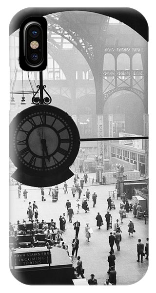 Penn Station Clock IPhone Case