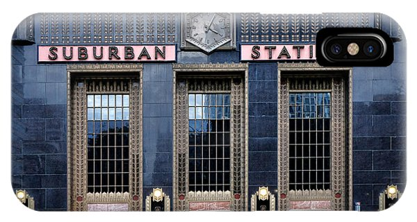 Railroad Station iPhone Case - Pennsylvania Railroad Suburban Station by Olivier Le Queinec
