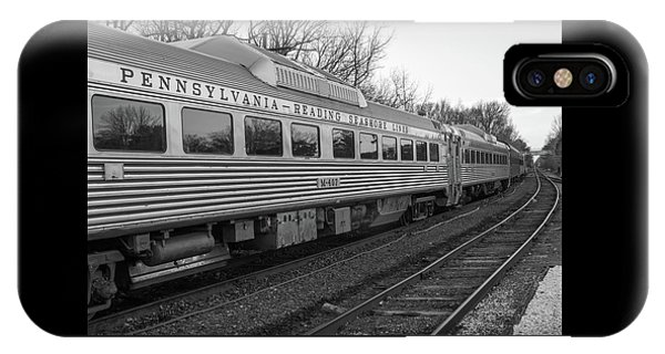 Pennsylvania Reading Seashore Lines Train IPhone Case