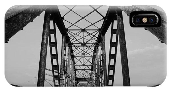 Pennsylvania Steel Co. Railroad Bridge IPhone Case