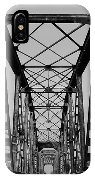 Pennsylvania Steel Co. Railroad Bridge IPhone Case
