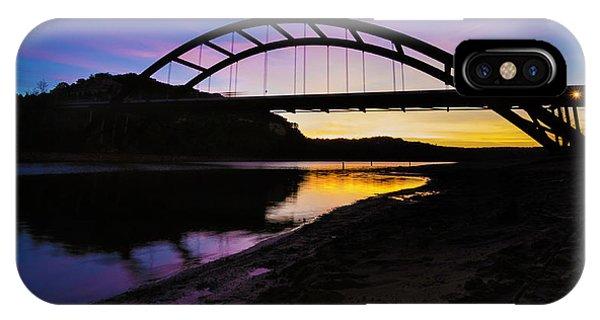Pennybacker Bridge IPhone Case