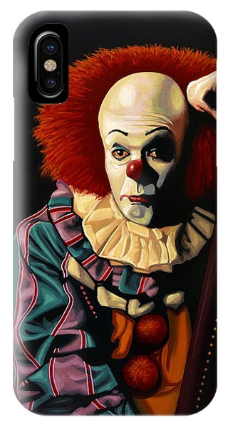 Colourful iPhone Case - Pennywise by Paul Meijering