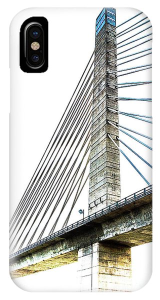 Penobscot Narrows Bridge And Observatory IPhone Case