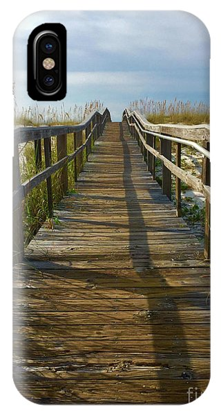 IPhone Case featuring the painting Pensacola Florida A52516 by Mas Art Studio