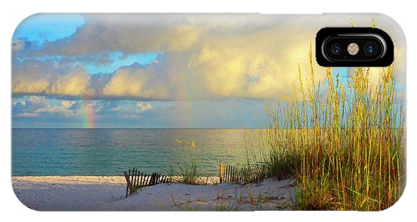 Pensacola Rainbow At Sunset IPhone Case