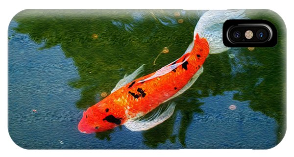 Pensive Koi IPhone Case