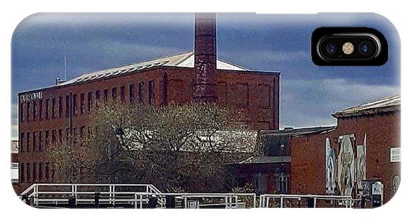 Pensive Sky On The Walk Into Leeds Phone Case by Dante Harker