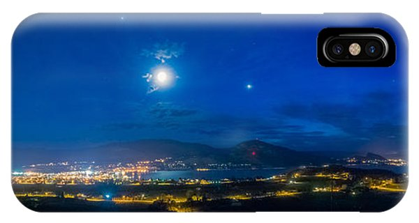 Penticton Night 1 IPhone Case