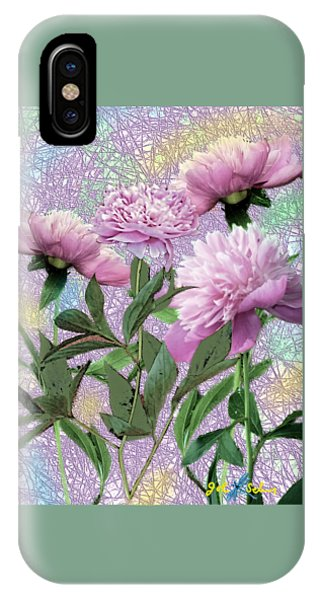 Peonies 6 IPhone Case