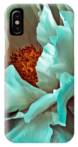 IPhone Case featuring the photograph Peony Flower by Chris Lord