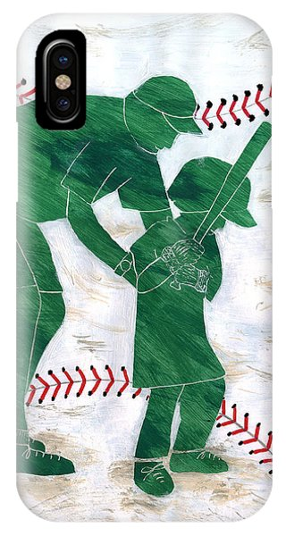People At Work - The Little League Coach IPhone Case