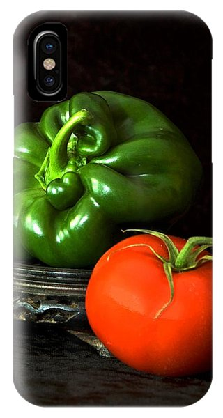 Pepper And Tomato IPhone Case