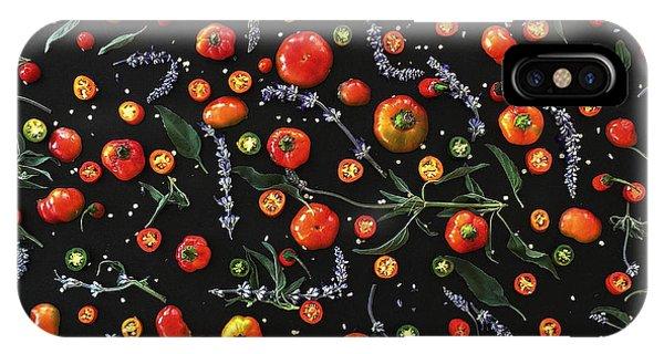 Pepper Pattern IPhone Case
