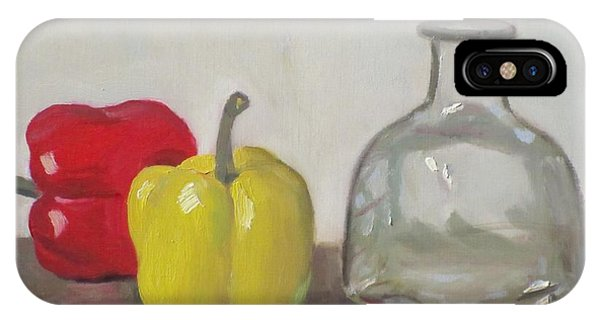 Peppers And Tequila Bottle IPhone Case